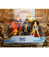 FUNKO DC HERO WORLD JUSTICE LEAGUE 5 PACK NEW SEALED