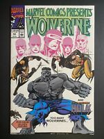 Marvel Comics Presents #59 Wolverine Hulk 1990