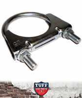 """Car Exhaust Clamp Suit 2.25"""" Exhaust Pipe / Muffler Clamp / UBolt 2 & 1/4"""" New"""