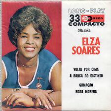 "ELSA SOARES. VOLTA POR CIMA. RARE BRASIL EP 7"" COMPACT 33 SALSA POP ODEON"