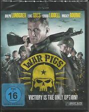 War Pigs [Blu-ray] Mickey Rourke , Dolph Lundgren Neu!