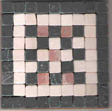 Estilo Romano Mosaico Kit-hace 2 Posavasos En Piedra Tejas-Sin Corte necesarios