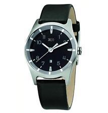 Erwachsene Armbanduhren aus echtem Leder mit Datumsanzeige für Damen