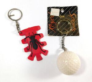 Golf Ball Keychain + Golf Accessory Spider Divot Tool