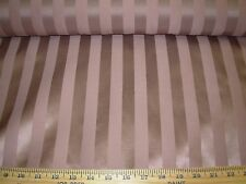 "~6 6/8 YDS~ ""STRIPES"" MAUVE ~ELEGANT WOVEN JAQUARD UPHOLSTERY FABRIC FOR LESS~"