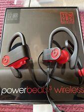 Beats by Dr. Dre Powerbeats 3 Ear-Hook Wireless Headphones - Defiant Black/Red