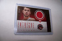 Rare 2012-13 Panini Intrigue Rookie Jonas Valanciunas Jersey Serial 07/99 NBA