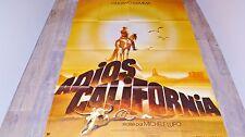 ADIOS CALIFORNIA  ! giuliano gemma  affiche cinema western