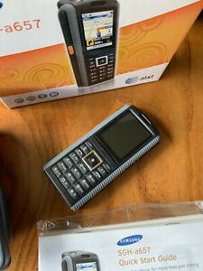 Samsung SGH A657 - Rugged MIL-SPEC Black AT&T SmartphoneCellphone