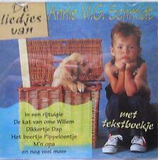 DE BUDDY'S -  DE LIEDJES VAN ANNIE M.G.SCHMIDT -  CD