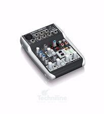 Behringer XENYX 502 Pro Audio 5-Input 2-Bus Portable Mic Preamp Mixer