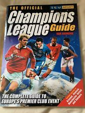 Teddy Sheringham Signed Champions League Book Manchester United
