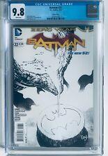 BATMAN #22 - Greg Capullo B&W Sketch 1:100 Variant - DC Comics - 9/13 - CGC 9.8