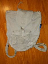 Baggu Grey Casual canvas Backpack