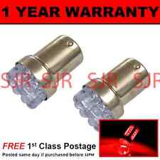 207 1156 BA15s 382 P21W XENON RED 8 DOME LED TAIL REAR LIGHT BULBS X2 TL200702
