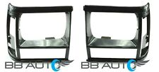 HEADLIGHT BEZELS TRIM SET RH LH FOR 91-96 JEEP CHEROKEE WAGONEER 91-92 COMANCHE