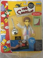 The Simpsons DISCO STU Action Figure World of Springfield WOS 2002 BRAND NEW