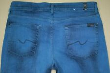 7 For All Mankind Slimmy Slim Fit Jeans Men's Size 34 Blue Colored Denim
