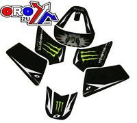 Yamaha PW50 monster  team graphic kit sticker set