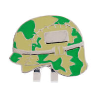 Golf Ball Marker Hat Clip Detachable Cap Pattern Random Color