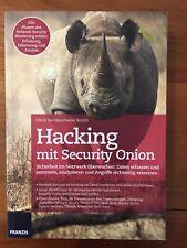 Hacking mit Security Onion von Chris Sanders und Jason Smith (2016, Taschenbuch)