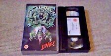 THE ALMIGHTY SOUL DESTRUCTION LIVE POLYGRAM UK PAL VHS VIDEO 1991 Hard Rock RARE