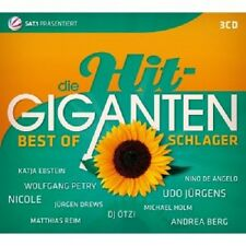 DIE HIT GIGANTEN-BEST OF SCHLAGER (UDO JÜRGENS/NICOLE/DJ ÖTZI/HEINO/+) 3 CD NEU
