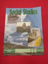 Social Studies World Geography - 11 * 1107 * School Of Tomorrow PACE