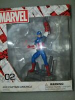 NIB Schleich x Marvel Comics #02 Captain America hand-painted diorama #21503