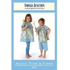 """INDYGO JUNCTION """"ANGELIC TUNIC & TOPPER"""" Sewing Pattern"""