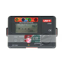 UT526 Insulation Earth Resistance RCD Electrical Tester Meter up to 1KV