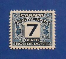 1932 7c CANADA POSTAL NOTE SCRIP REVENUE VD # FPS9 B # 9 UNUSED NH       CS15787