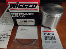 WISECO 1987-92 YAMAHA WAVERUNNER 500 PISTON KIT STANDARD 72.00MM 586PS 586M07200