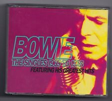 """David Bowie, """"The Singles 1969-1993"""" (3-CD, 1993) including """"Little Drummer Boy"""""""