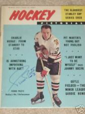 Pierre Pilote Autographed 1964 Hockey Pictorial*Mint
