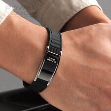 New Black Power Ionics Titanium Germanium Healthy 2000 Ion Bracelet