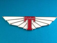 Ford EF EL AU Falcon Fairlane XR6 XR8 Tickford Wings Badge x1. Zinc Alloy!