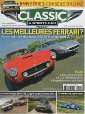 CLASSIC & SPORTS CAR 45 S2 ASTON MARTIN DBR4 ALPINE A110 1300 S AMILCAR CS CGSS