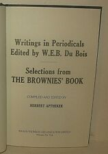 W. E. B. DuBois Brownies' Book African American Children Juvenile Literature