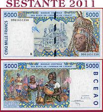 (Es) WEST AFRICA STATES SENEGAL - 5000 5.000 FRANCS 1999 - P 713Ki  NUEVO-/UNC-
