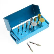 FREE SHIP 1X Dental Assorted Diamond Polishing Burs Zirconia RA3112 12PC/KIT IT