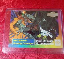 Bandai Digimon Trading Card 29 of 32 Metalgreymon VS. Devidramon Holo
