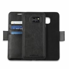 Galaxy S7 Edge 2n1 Leather Wallet w/Removable Cell Phone Case & Magnetic Closure