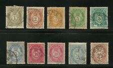 More details for norway: norge 1883 selection - ex-old time collection to 30c brown
