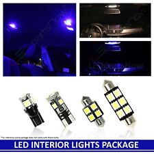 Blue LED Interior Light Accessories Replacement for 03-18 Toyota 4Runner 18 bulb