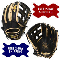 "Rawlings Heart of the Hide R2G Model 12.75"" Outfield Baseball Glove PROR3319-6BC"