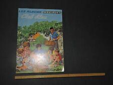 ALBUM MAGIQUE Volumétrix Ciel Bleu Années 1960 Crayonnage crayon de papier