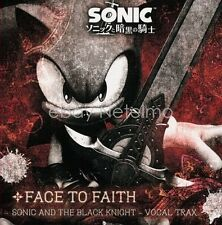 New 1076 SONIC AND THE BLACK KNIGHT VOCAL TRAX FACE TO FAIT SOUNDTRACK CD Song