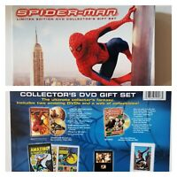 SPIDERMAN LIMITED EDITION DVD COLLECTOR'S GIFT SET - Film cell , sketch , comic