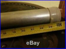 Vintage Eagle Claw USA Aluminum Fishing Rod TUBE & Sock (only) ; 24 X 2 inches